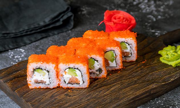 Afhalen: sushibox (32 stuks) van Tokyo Lounge