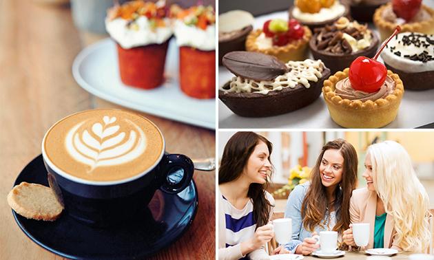 High coffee inclusief gebakjes