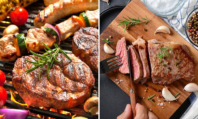 Waardebon voor kalfsvlees of vleespakket voor 2