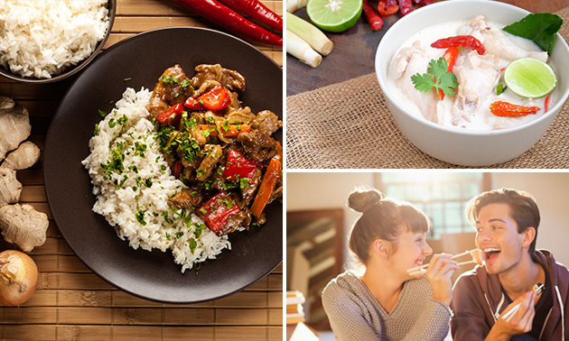 Afhalen: 3-gangen keuzediner bij T-Thai Restaurant