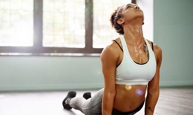 4 lessen hot yoga