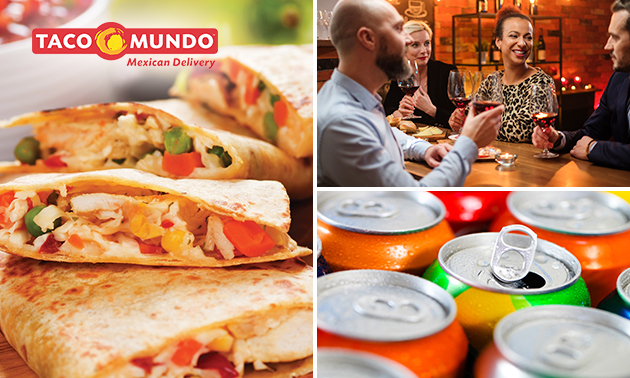 Afhalen: take-away diner + drankje bij Taco Mundo