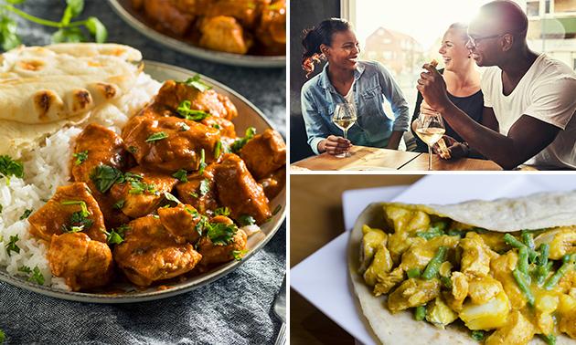 Afhalen: 3-gangen keuzediner bij Taste of India