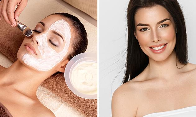 Klassische Gesichtsbehandlung + Make-up + Getränk (60 Min.)