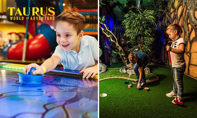 18-Loch Adventure Golf + 3 Arcade-Münzen