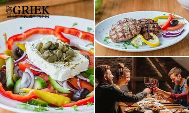 3-gangen keuzediner bij Taverna De Griek Gouda