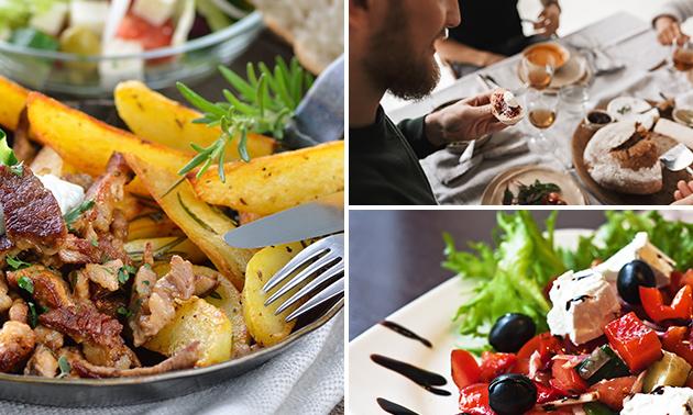 Griechisches 3-Gänge-Menü + Digestif