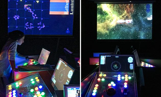 Team-Space Spiel für bis zu 6 Personen (1,5 Stunden)