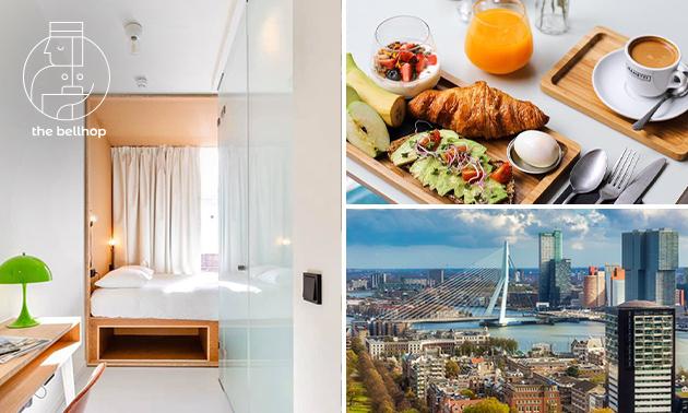 VIP-Übernachtung für 2 + Frühstück im Herzen von Rotterdam