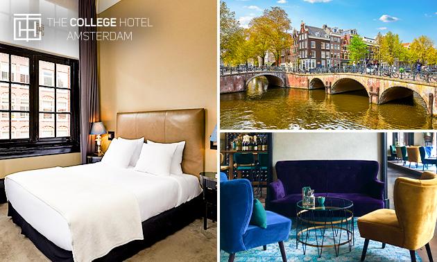 Overnachting voor 2 + diner in Amsterdam Oud-Zuid