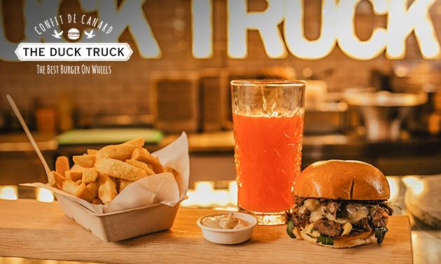 Afhalen: burger + friet + saus in hartje Rotterdam