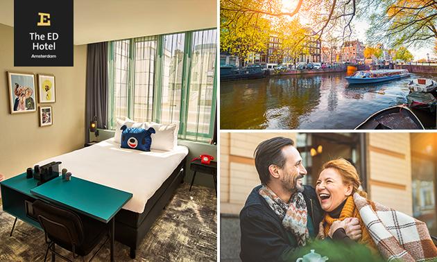 Übernachtung + Frühstück + Getränk für 2 in Amsterdam