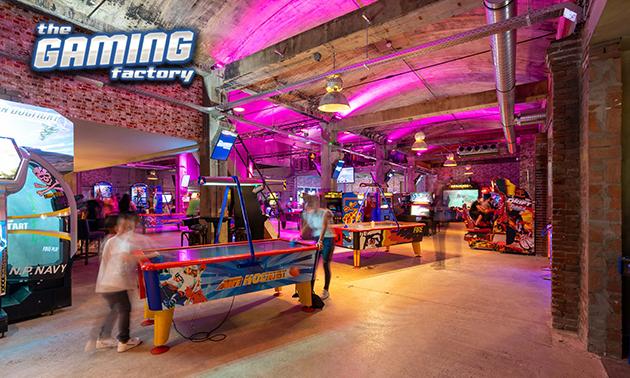 Onbeperkt gamen (3 uur) bij The Gaming Factory
