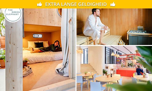 Übernachtung + City Spa für 2 Personen in Maastricht