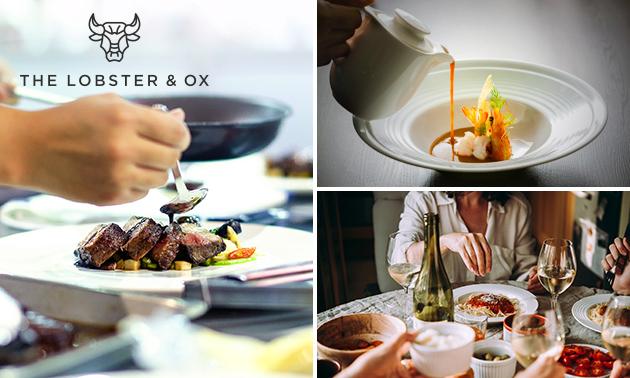 Afhalen: 3-gangendiner bij The Lobster & Ox