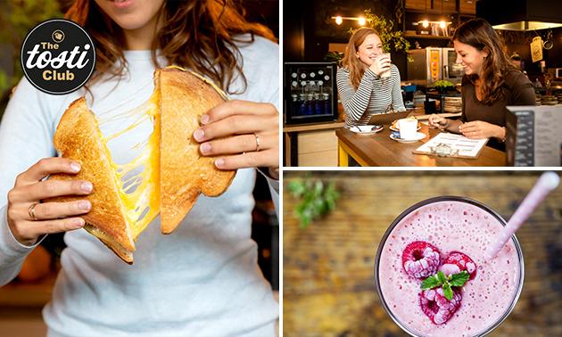 Afhalen: tosti en smoothie naar keuze in hartje Arnhem