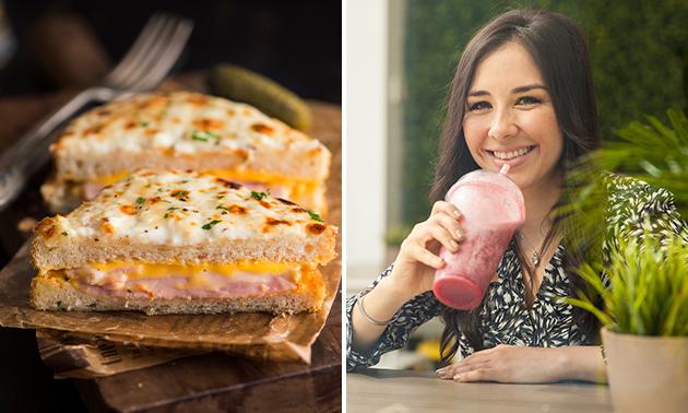 Afhalen: luxe tosti + smoothie + drankje