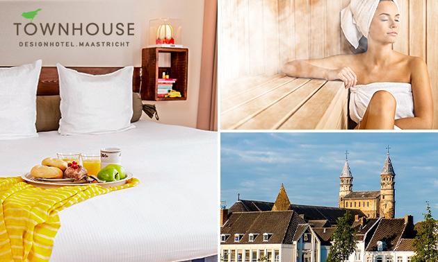 Übernachtung + Wellness für 2 in Maastricht