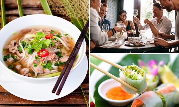 4-Gänge-Menü bei Tradition aus Vietnam