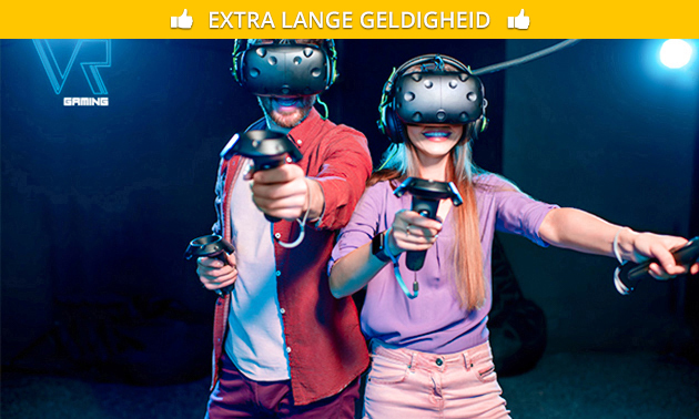 Virtual reality-game bij Ultimate VR Gaming
