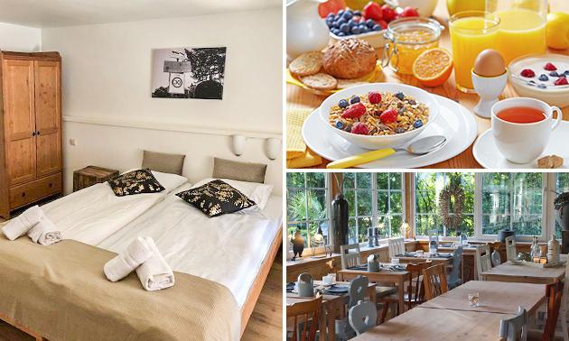 Overnachting + ontbijt voor 2 bij Simplevei in Zuid-Limburg