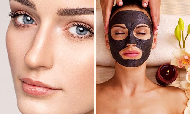 Gesichtsbehandlung + Make-up + Getränk (60 Min.)