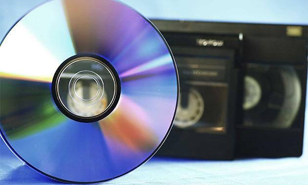 Omzetten van videoband(en) naar dvd