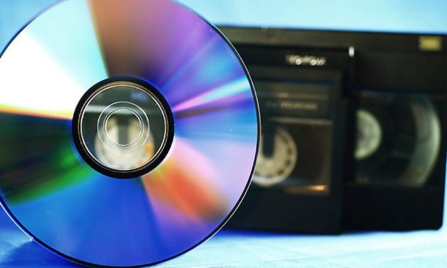 Videoband(en) naar dvd of .avi