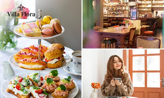 Thuisbezorgd of afhalen: luxe high tea bij Villa Flora