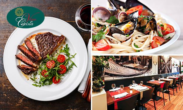 3- of 4-gangen keuzediner bij Vino e Cucina