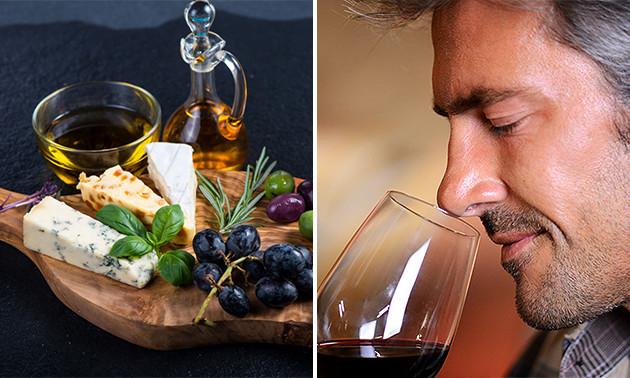 Wijnproeverij + kaasplateau bij Vino Vidi Vici