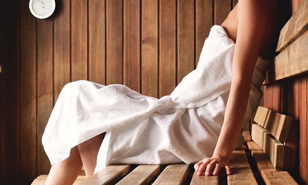 Saunasessie(s) (30 minuten) of Finse privé-sauna (2 uur)