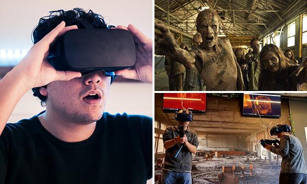 VR-game voor 2 t/m 8 personen