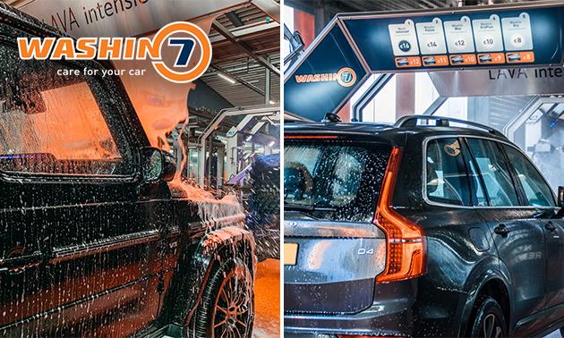 Autowasprogramma bij Washin7 Venlo