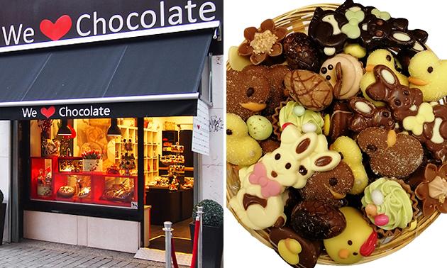 1 kilo paas-chocolade van We Love Chocolate