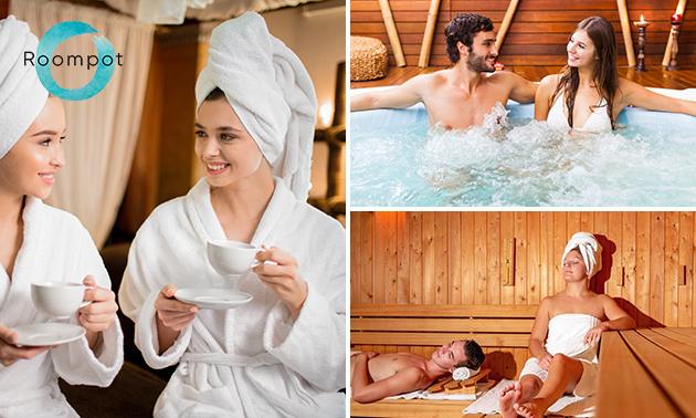 Dagentree voor sauna De Parel