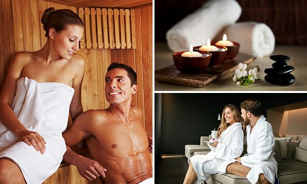 Dagentree sauna bij Wellness Warmond