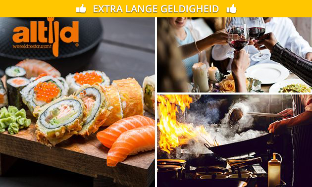 All-You-Can-Eat & Drink (2,5 uur) bij Altijd