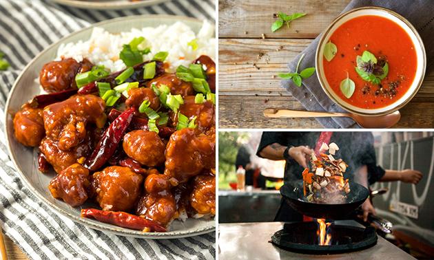 Afhalen: Chinese rijsttafel voor 2 personen
