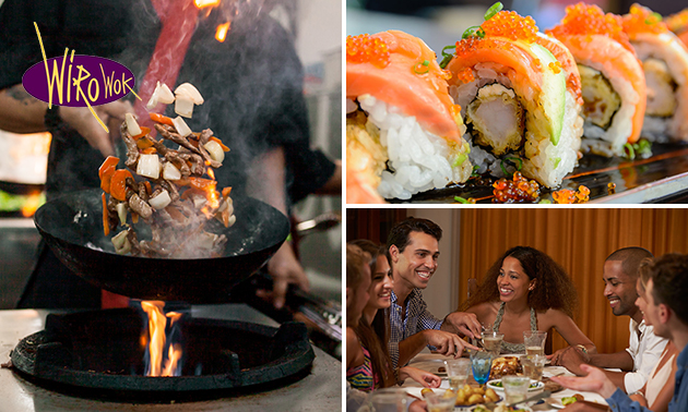 All-You-Can-Eat & Drink (3 uur) bij Wiro Wok