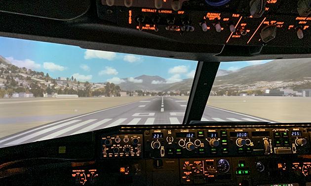 Fliegen im Flugsimulator (30 oder 60 Minuten)