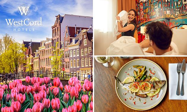 Übernachtung für 2 + Frühstück + opt. Dinner in Amsterdam