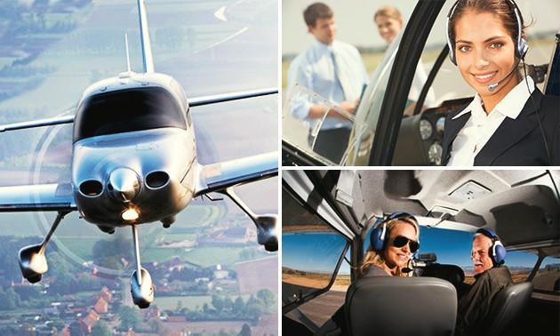 Erlebnistag + Flugzeug selbst fliegen