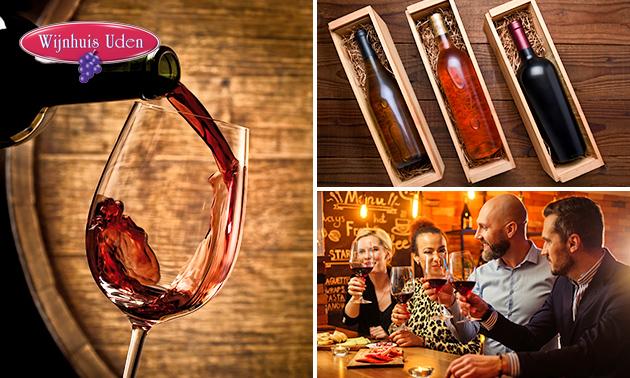 Afhalen: waardebon of proefpakket wijn (6 flessen)