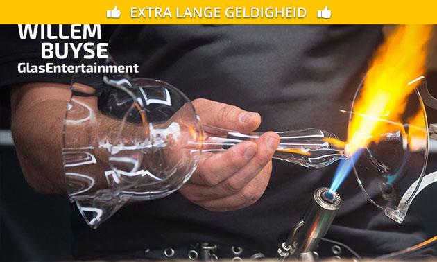 Workshop glasblazen + koffie/thee + lekkernij