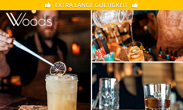 4 leckere Cocktails nach Wahl