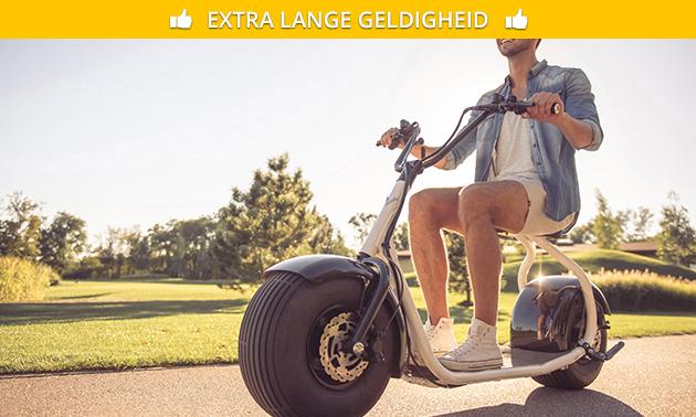 Huur elektrische scooter (halve dag)