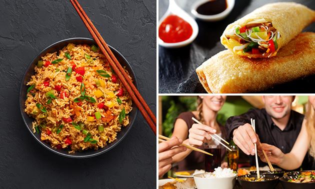 Afhalen: Chinese rijsttafel