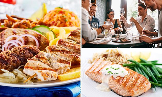 2- of 3-gangen keuzediner of -lunch in hartje Almere