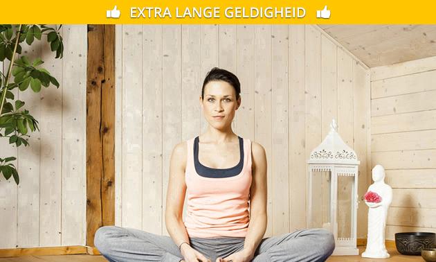 3 of 6 maanden onbeperkt online yoga en pilates